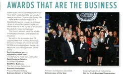 FSB First Voice magazine featuring award winning private investigators